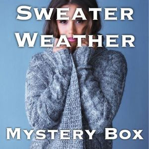 Sweaters - Mystery Box 📦 Sweater Weather (4 items) L